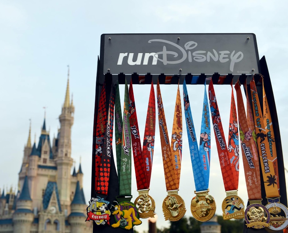 WDW Marathon Weekend Medals