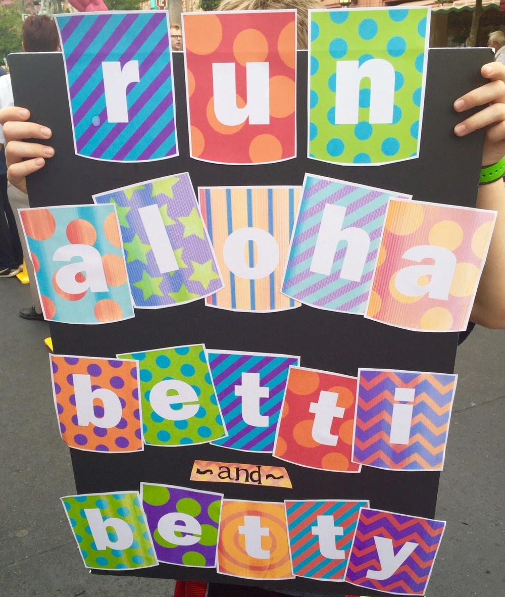 Run Aloha Betti & Betty