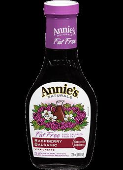 Annie's Naturals Fat Free Raspberry Balsamic Vinaigrette