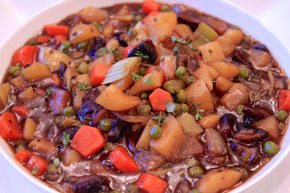 Meatless Mondays - Beefless Beer Stew