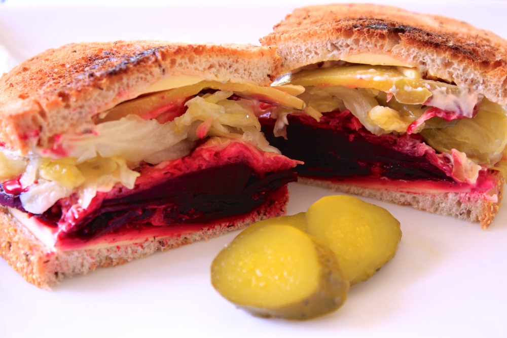 Meatless Mondays - Beet Reuben Sandwich, The Aloha Files