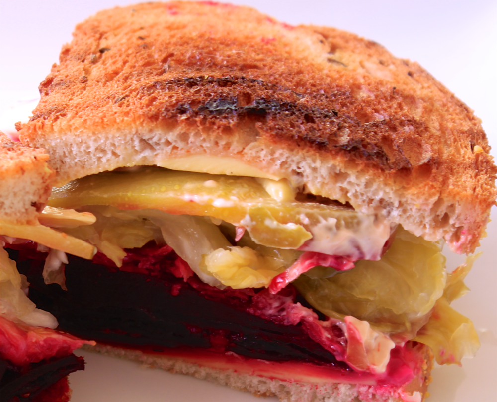 Meatless Mondays - Beet Reuben, The Aloha Files
