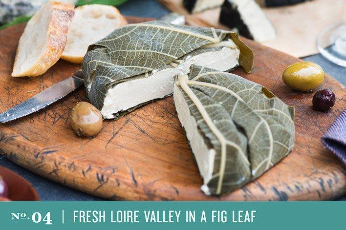 Fresh Loire Valley in a Fig Leaf