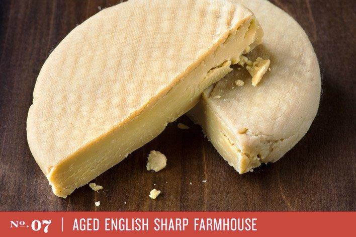 Aged English Sharp Farmhouse
