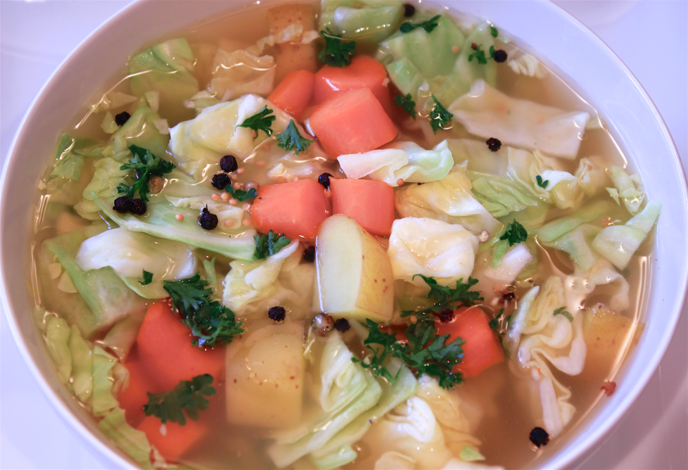 Irish Cabbage Soup - The Aloha Files