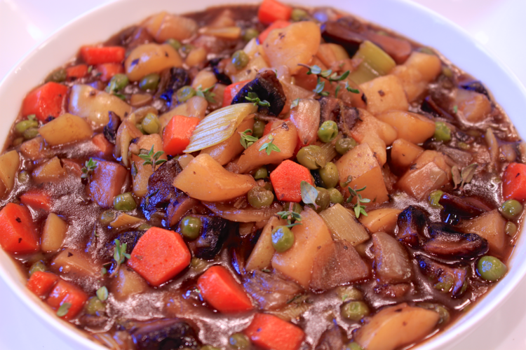 St. Patrick's Day - Beefless Beer Stew