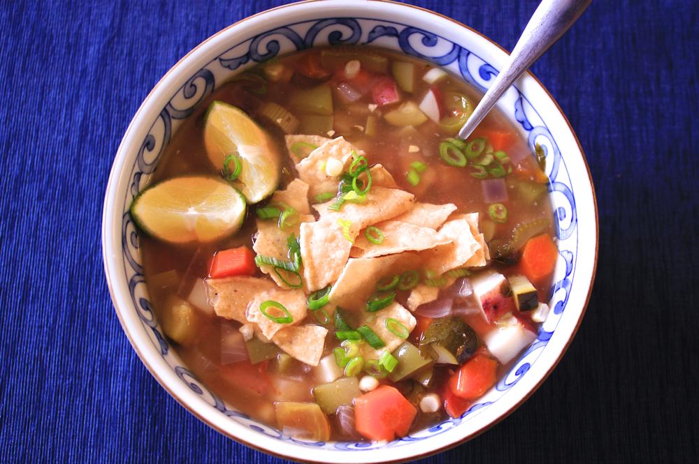 Simple Tortilla Soup - The Aloha Files
