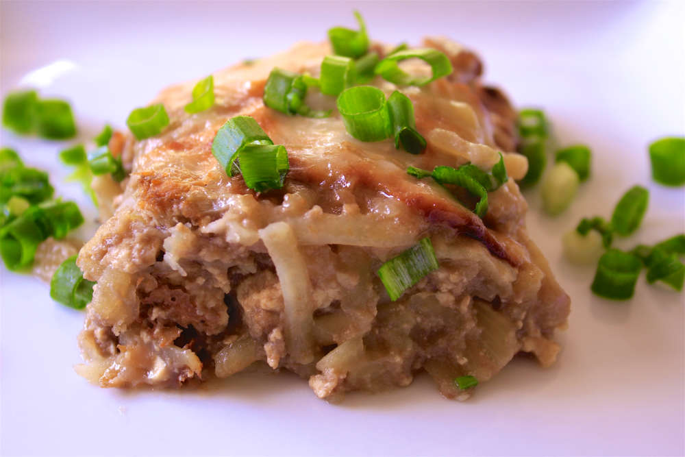 Breakfast Hashbrown Casserole - The Aloha Files