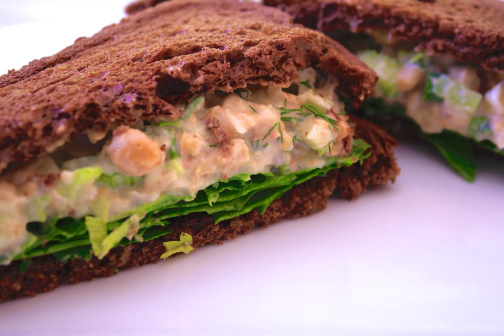 Chickpea Salad Sandwich - The Aloha Files