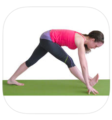 Yoga for Runners App for post-run stretching!