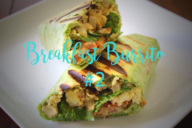 Breakfast Burrito #2