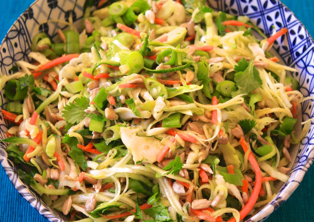 Spiraled Veggie Noodle Salad