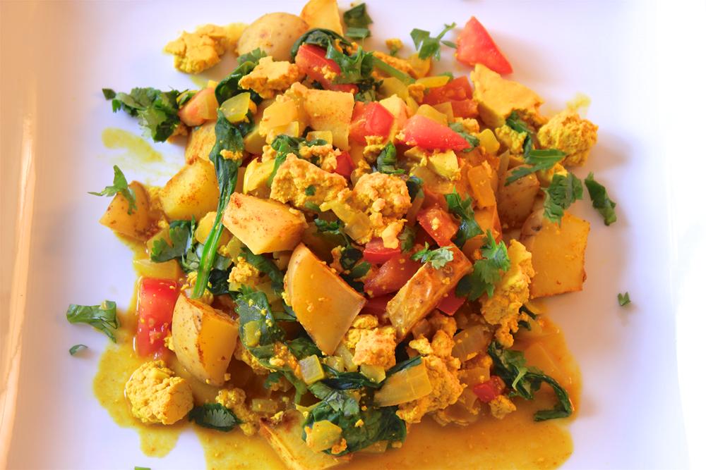 Tahoe Tofu Breakfast Scramble