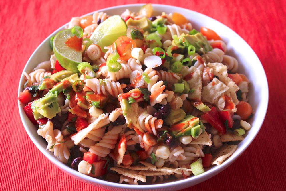 Taco Pasta Salad - The Aloha Files