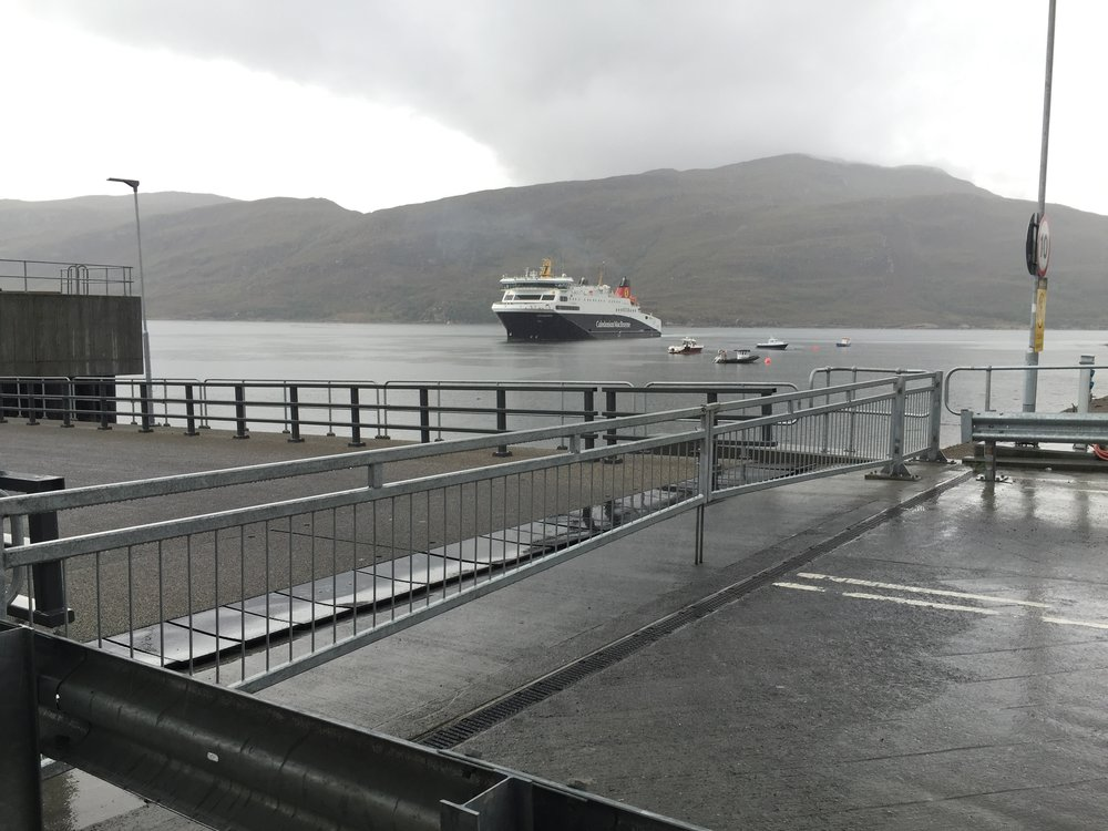 CalMac Ferry from Ullapool to Stornoway