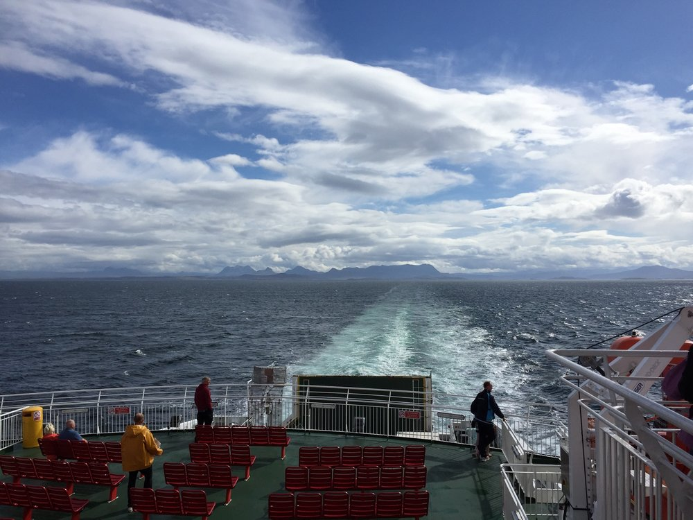 Crossing the sea to Stornoway