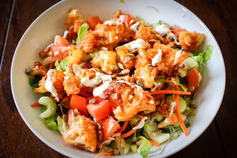 Sriracha Cauliflower Salad