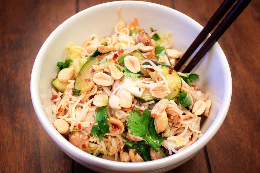 Savoy Cabbage Noodles