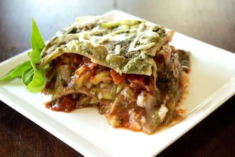 Pesto Lasagne