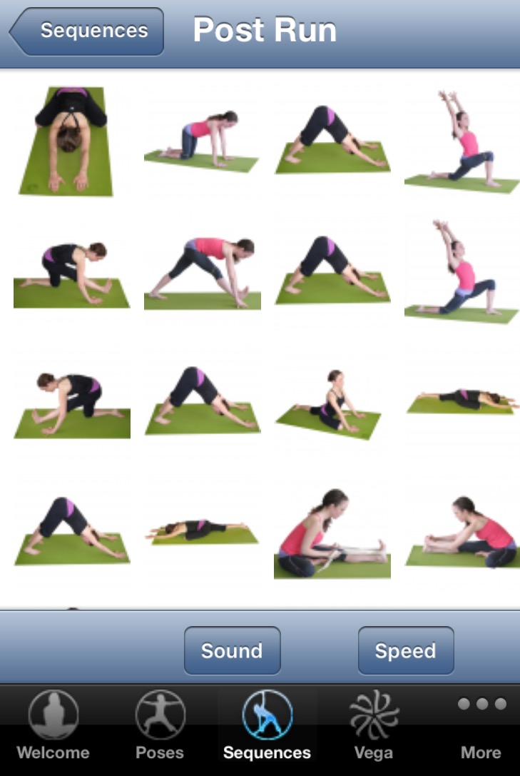 Post Run Stretches - Yoga for Runners App