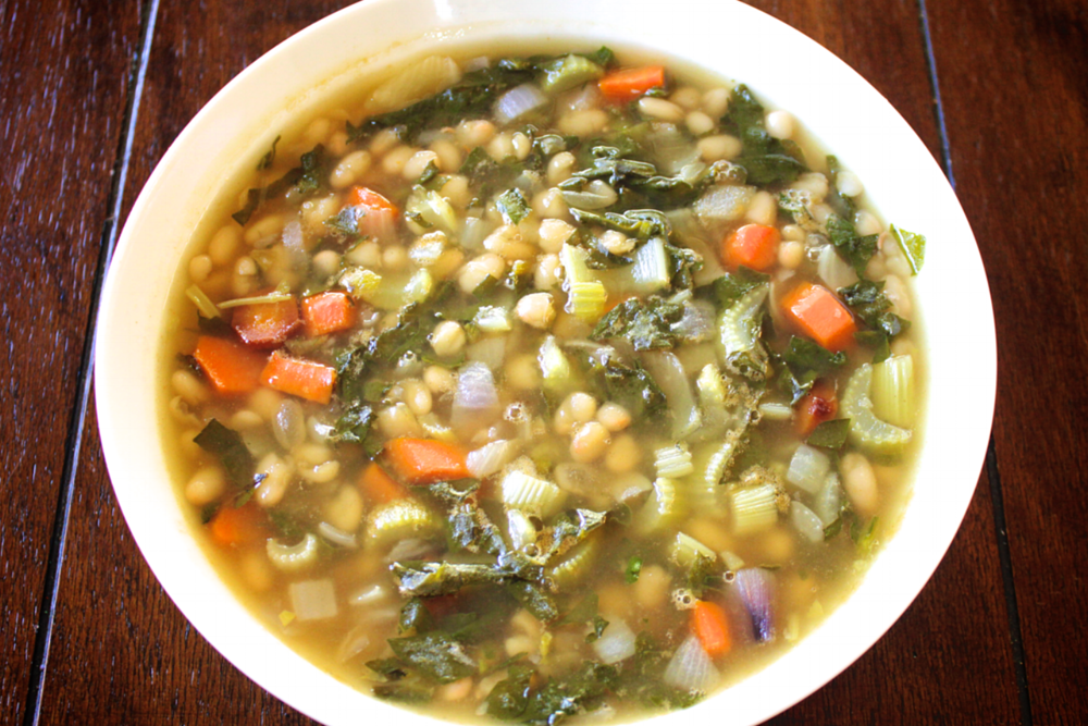 New Year's Bean Soup