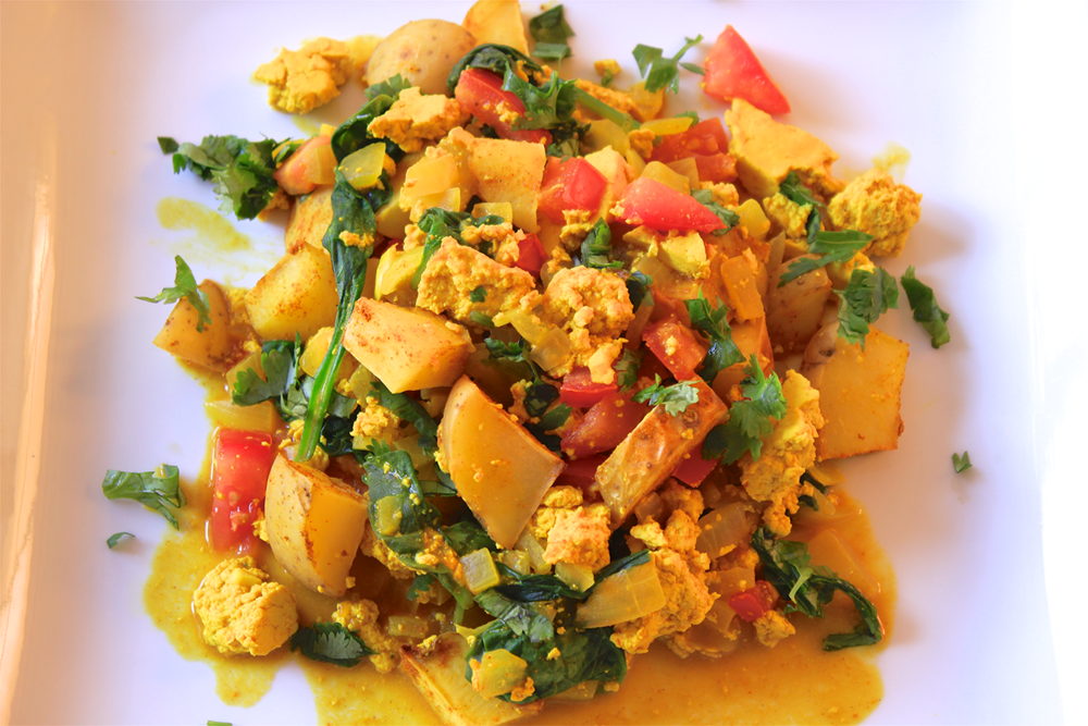 Tahoe Tofu Breakfast Scramble