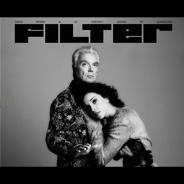 David Byrne & St. Vincent Jacket & Belt … Mandy Coon  Filter Magazine