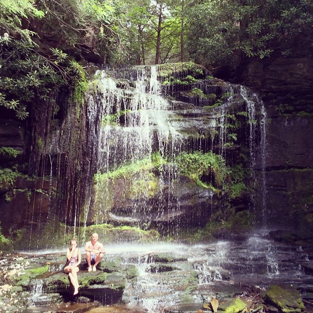 this today. @kateaka @themiszuk (at Mullet Falls Upstate NY)