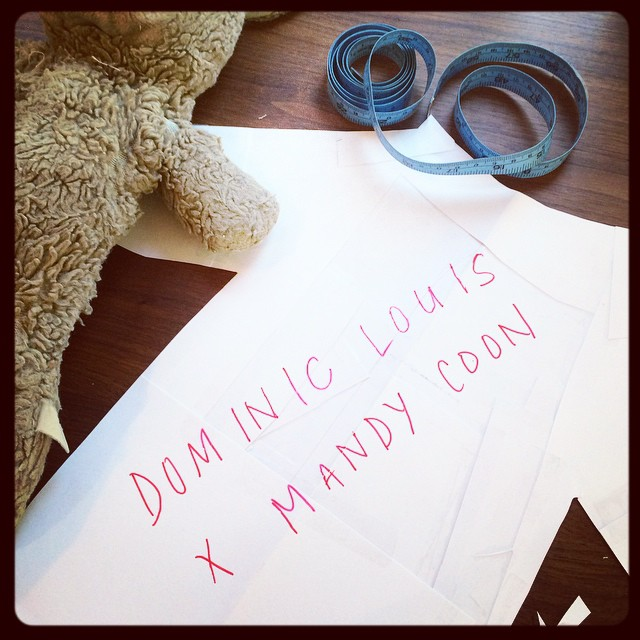 coming soon…. @mandycoon x @dominic_louis #teaser