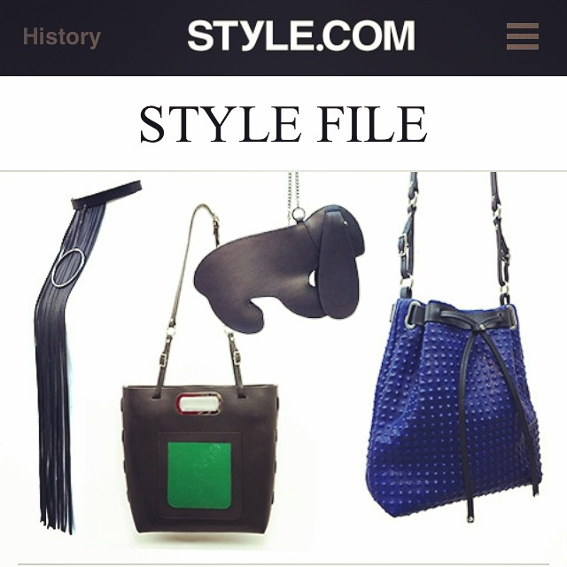 labor of ❤️. http://www.style.com/stylefile/2014/07/mandy-coon-back-business-new-accessories-new-perspective/ thank you @styledotcomkristin! @nouveaupr @teamnouveau @zerocoooool