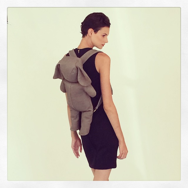 AND introducing the MC x @dominic_louis bunny backpack! @teamnouveau