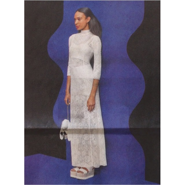 Our new white Ginny Bunny Bag in the NY Post Alexa x Refinery 29 Wedding Guide.  @refinery29 #nypost #Alexa #refinery29 #weddings #attheALTar #inprint #sorryforthefold