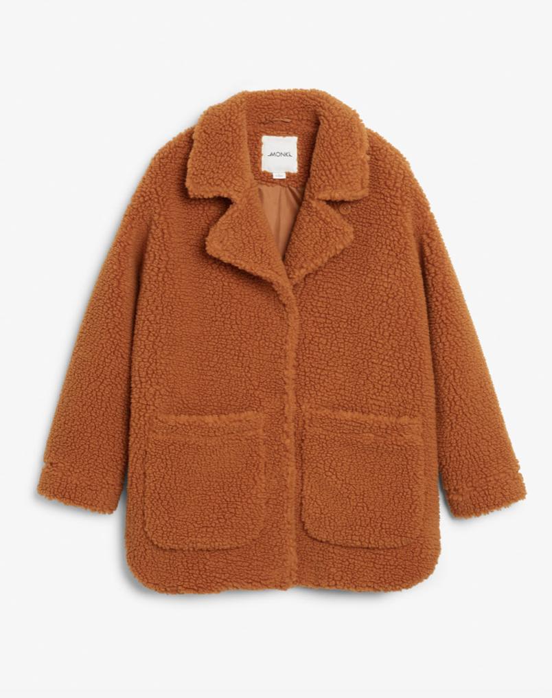 Furry Coat  MONKI £65