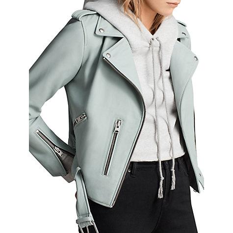 Leather Biker Jacket   ALL SAINTS £318