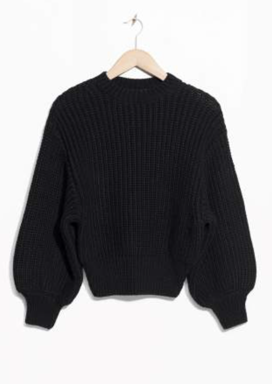 Chunky Rib Knit Sweater  & Other Stories £59
