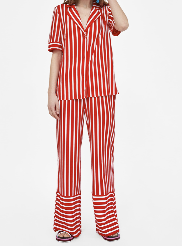 Striped Suit   Zara £39.98