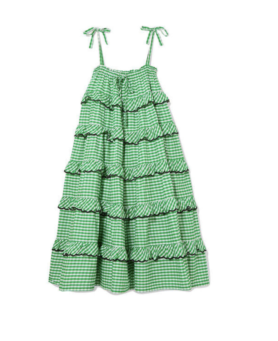 Gingham Tie Dress  Innika Choo £405