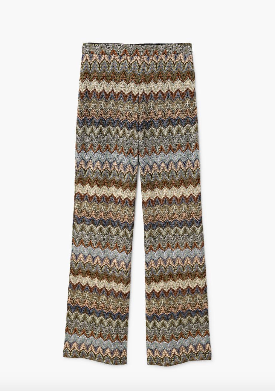 Jacquard Trousers  Mango £59.99