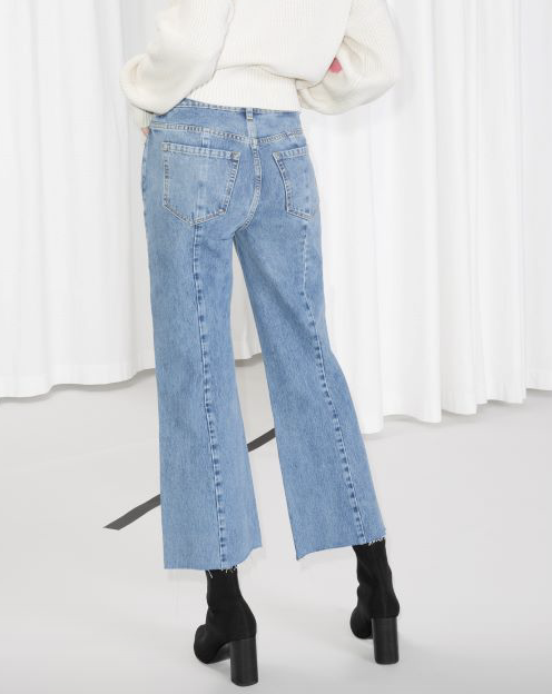 Cropped Flared Jean  & OTHER STORIES £59