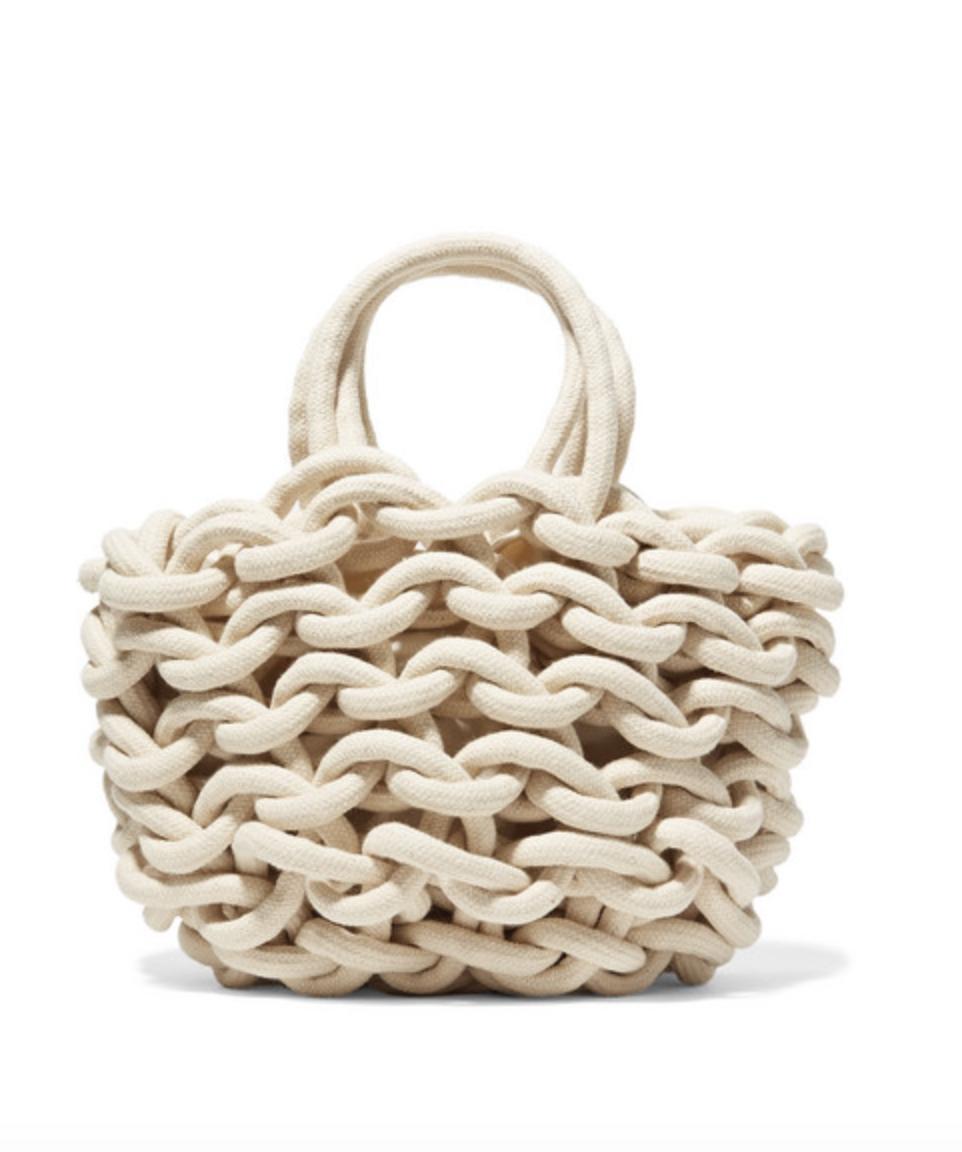 Woven Cotton Bag  ALIENINA £160