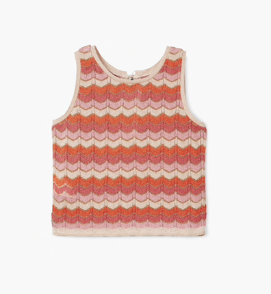 Striped Knitted Top  MANGO £29.99