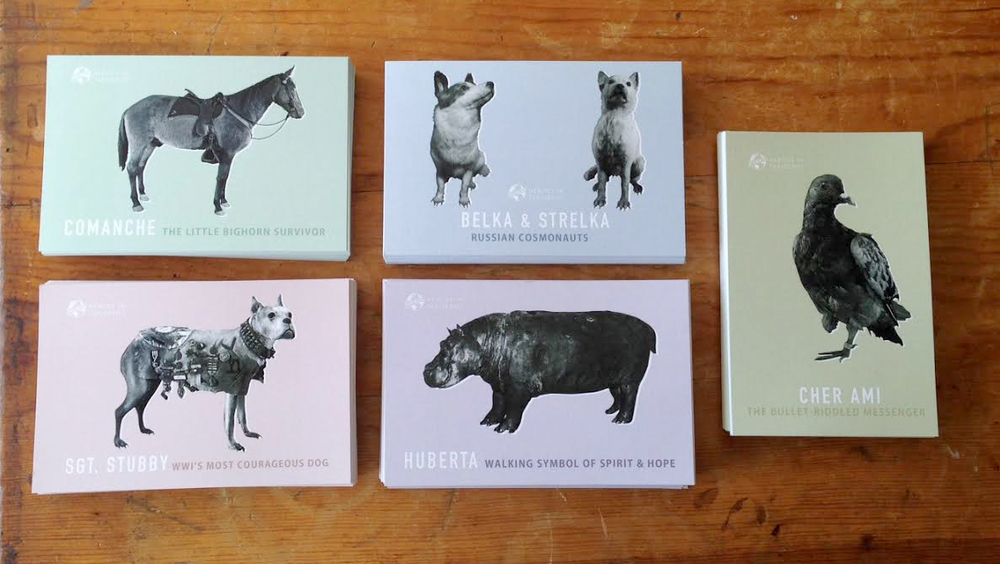 Heroes in Taxidermy Postcard Set