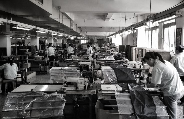 Here are some of the factory workers creating our latest designs which will be available next season.