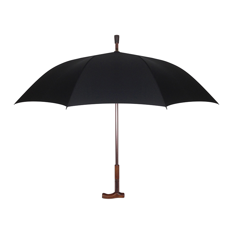Adjustable Wooden Cane Umbrella