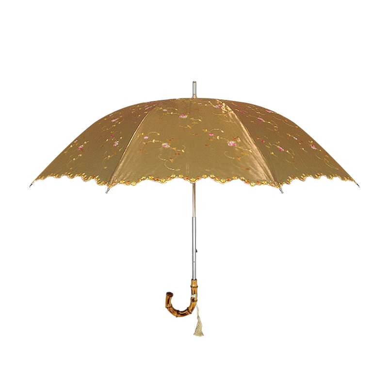 Iridescent Gold Parasol