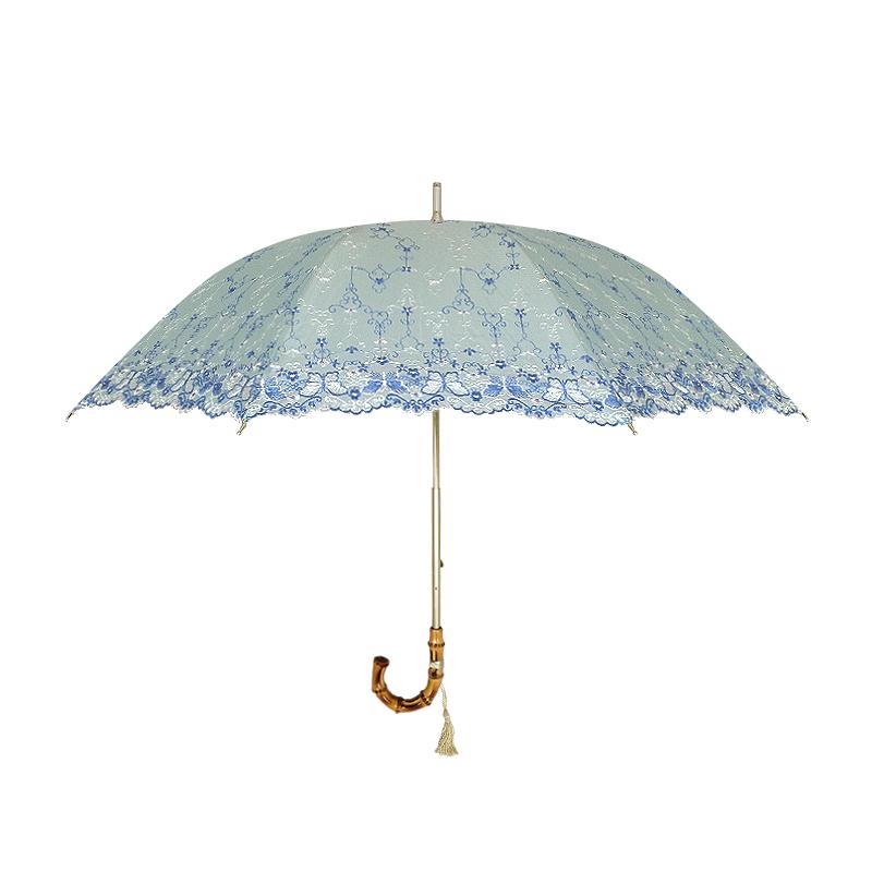 Translucent Aqua Blue Parasol