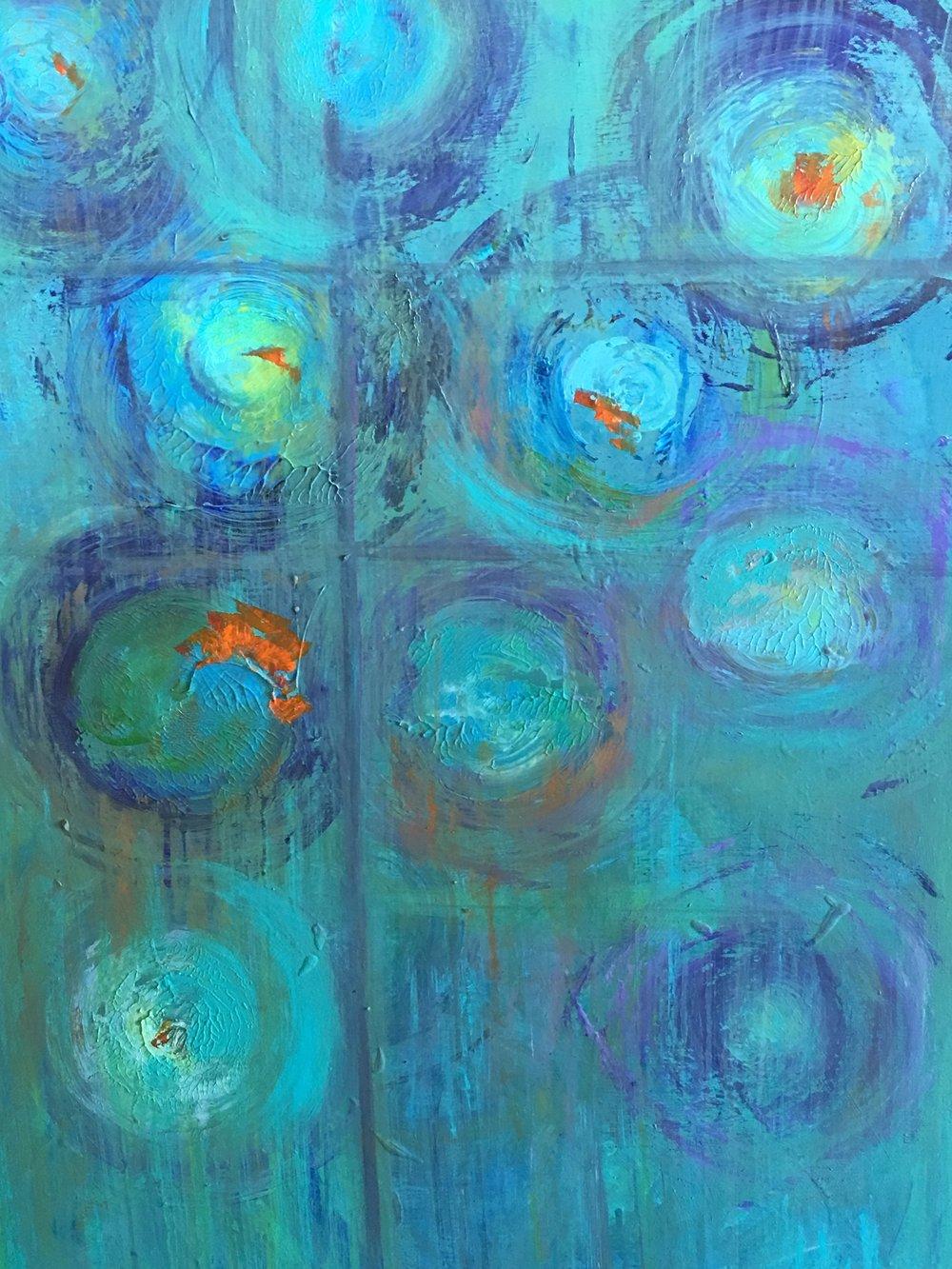 Emerging in Blue