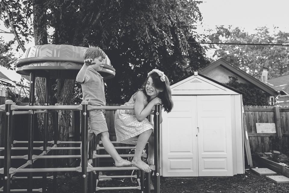 children playground backyard denver family photographer