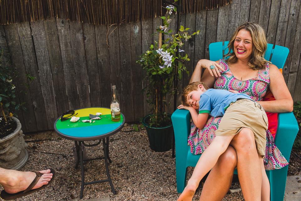 son mother snuggles denver family photographer