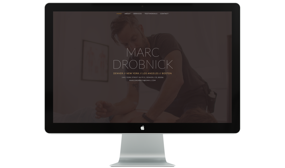Marc is a bodyworker and massage therapist who is magic. I have been his client for years and last year, he became mine when we built and wrote this site together.